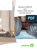 148 Loesche Mills for Cement Granulated Blast Furnace Slag F