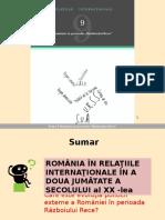 Romania in Perioada Razboiului Rece