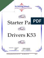 Drivers K53 Starter Pack