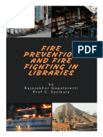 Fire Prevention and Fire Fighting in Libraries