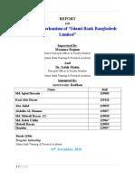 Report Islsmi Bank