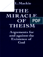 Mackie the Miracle of Theism Arguments for and Against the Existence of God BM.11--199-216