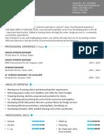 Interior Designer CV