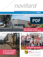Mignovillard - Bulletin municipal 2016