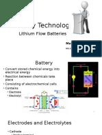 Batteries Presentation