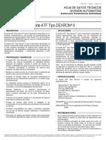 09 Hdt Atf Tipo Dexron II