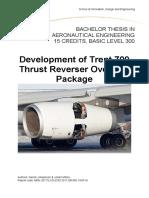 RR TRENT Thrust Reverser