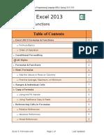 2. Formulas & Functions (Excel-2013)
