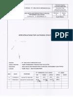 11215-ELE-SPC-001 Rev. 0 Spec. for Cathodic Protection