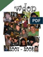 2007-2008 Sawdon Yearbook