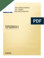 Topografia II Altimetria