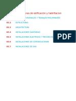 Norma Nacional de Metrados