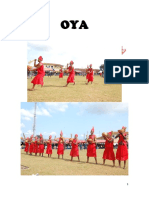 Oya tradicional