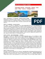 Smart Voyage Toscana Cinque Terre 2017