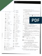Lista de exercícios - derivadas