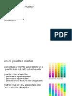 Color Palettes Brewer