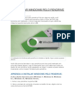 Instalar Windows Pelo Pendrive