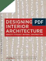 Designing Interior Architecture 1-99