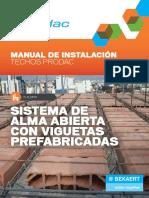 Manual Techos Prodac 2015