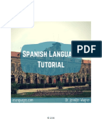 Spanish Tutorial Sample