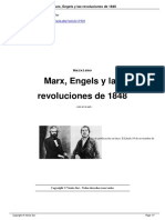 Marx, Engels y Las Revoluciones de 1848