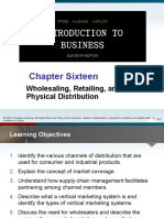 Chapter 16_Marketing_Wholesaling, Retailing, And Physical Distribution