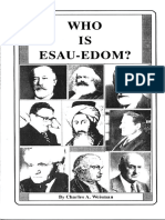 who is esau edom c a Weisman