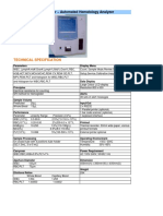 H3D Technical Specifications