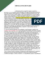 Embolia Polmonare - Med 15 16