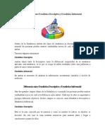 Semejanza Entre Estadística Descriptiva y Estadística Inferencial