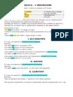 Grammatica - INVERSIONE