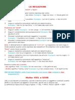 Grammatica - Negazione - Viel-sehr - Aggettivo Inizio