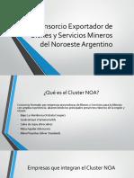 Presentación Cluster Minero NOA Dic-2015