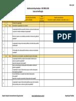 Lista de Verificação-Gap Analysis-IsO 9001 2015-Rev0