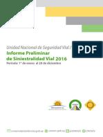 Informe Preliminar Unasev 2016