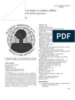 Rhinitis Allergy Guideline (Profilas)