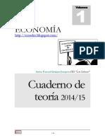Apuntes Economía 1º Bachiller 2014