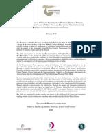 G40 Statement on Recommendations Pre-Referendum Sudan - June 2010