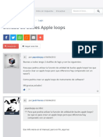 Utilidad de bucles Apple loops