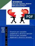 Divorcio. Evolución y Régimen Del CCC