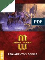 Mage Wars Reglamento y Codice Devir ES Low
