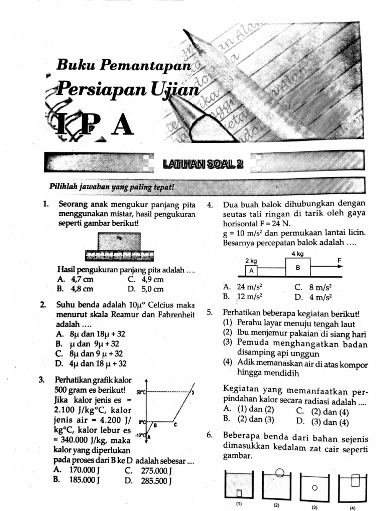 Akasia Ipa Latihan Soal 2