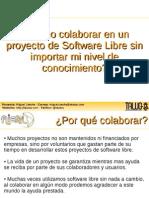 Como colaborar a proyectos de Software Libre