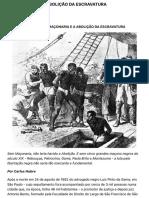 2.1 a Maçonaria e a Abolição Da Escravatura