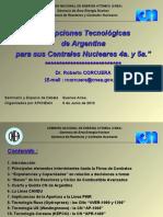 Principales Opciones Tecnológicas de Argentina para sus 4ª y 5ª Centrales    Nucleares - Dr Roberto Corcuera