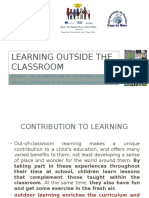learning outside the classroom ppt