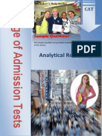 Analytical portion for Gmat test