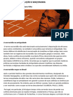 2.3 Escravatura, Abolição e Maçonaria - Blog o Malhete