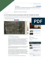 La UCLM Presenta La Primera Foto de Toledo de 1840 - ABC Toledo