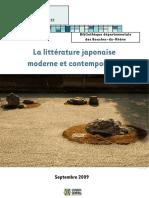 Biblio Littérature Japonaise Moderne Et Contemporaine 2009